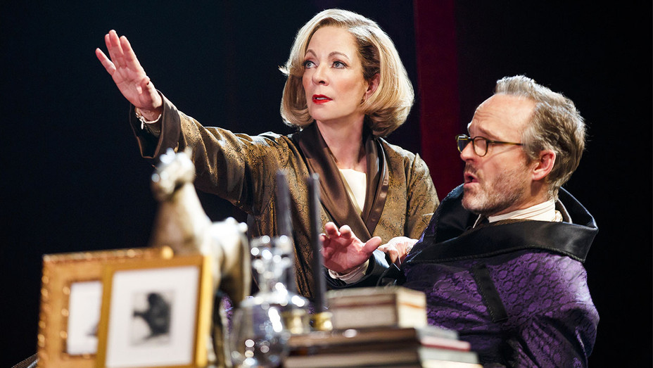 Six Degrees of Separation Broadway Allison Janney and John Benjamin Hickey - Publicity - H 2017