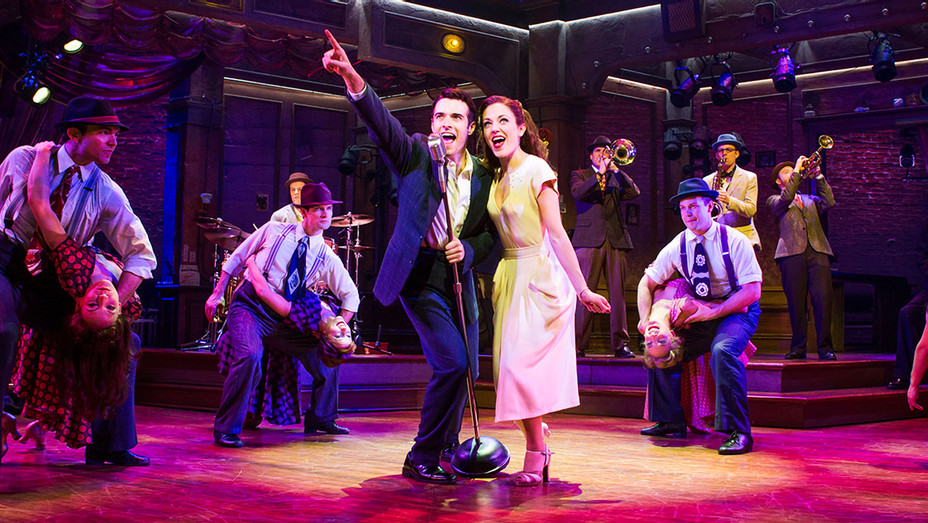 Bandstand Still Broadway Corey Cott and Laura Osnes - Publicity - H 2017