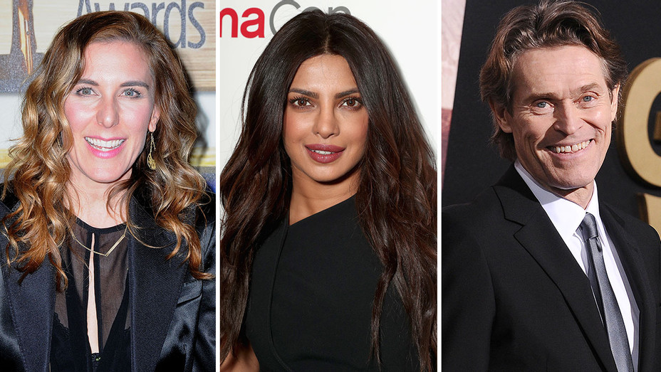 Amy Berg, Priyanka Chopra, Willem Dafoe_Split - Getty - H 2017