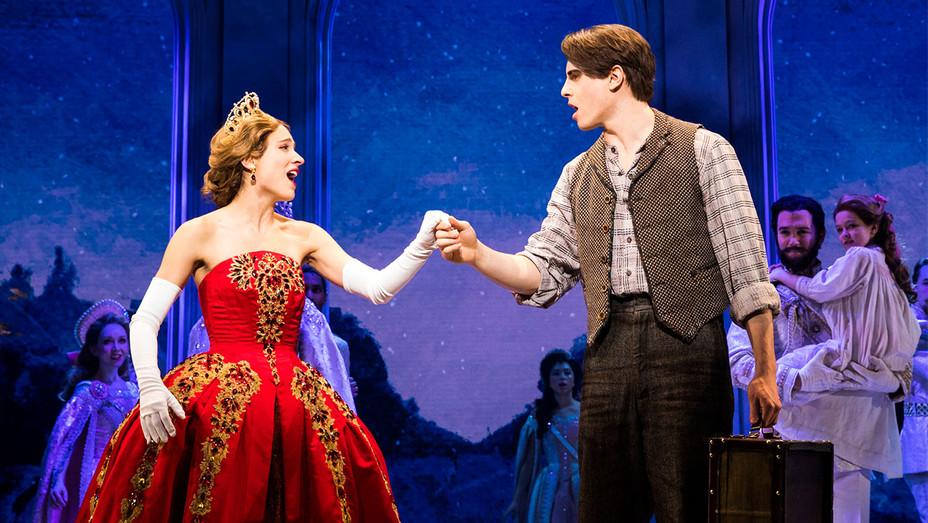 Anastasia Broadway Still Christy Altomare and Derek Klena - Publicity - H 2017