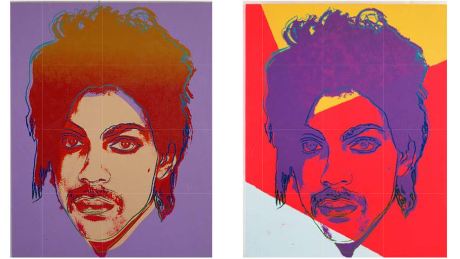 Andy Warhol Prince Paintings - Split - Publicity - H 2017