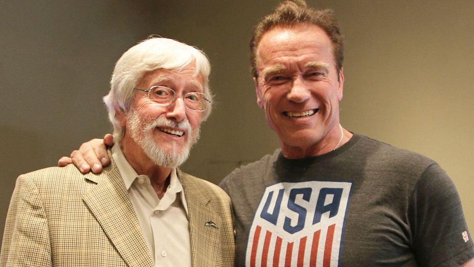 Jean-Michel Cousteau and Arnold Schwarzenegger - 3D Entertainment -Publicity-H 2017