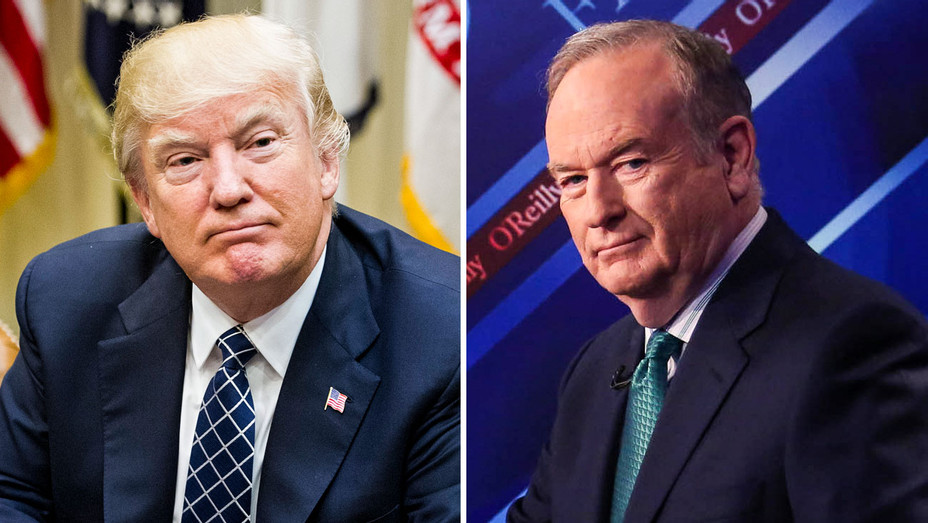 Donald Trump, Bill O'Reilly - Split - Getty - H 2017