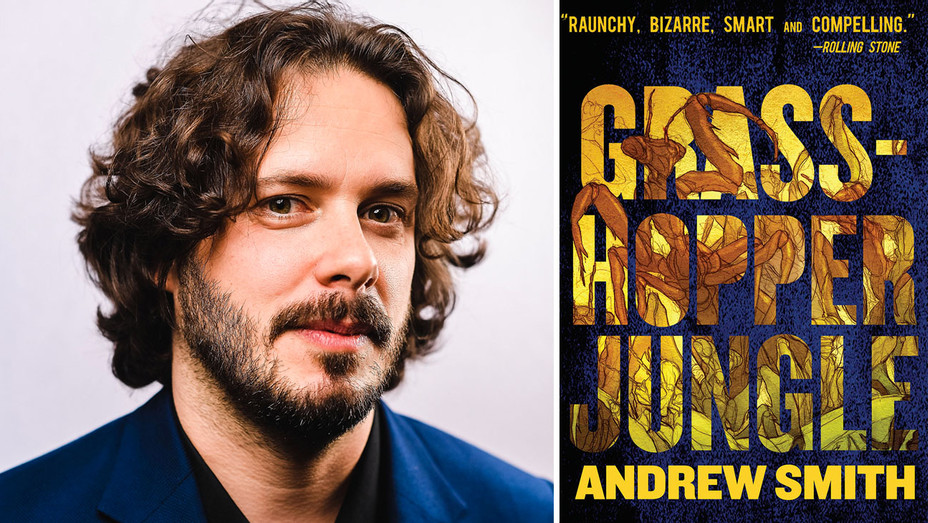 Edgar Wright - Grasshopper Jungle Cover - Split - Getty - H 2017