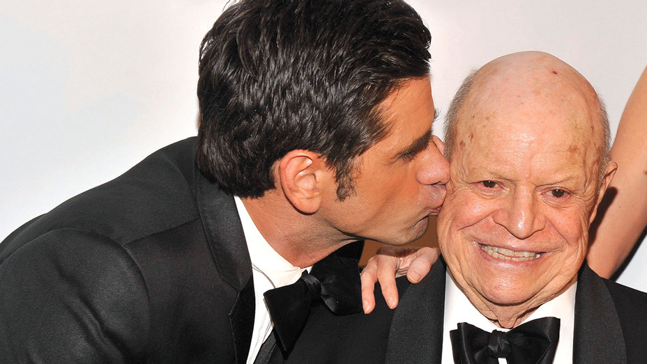 John Stamos and Don Rickles - The Friars Foundation Annual Applause Award Gala -Getty-H 2017