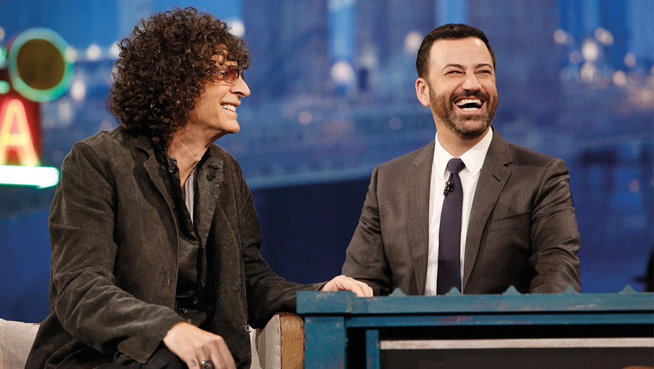 Jimmy Kimmel Live Still Howard Stern - 2015 - One Time Use Only - Getty - H 2017