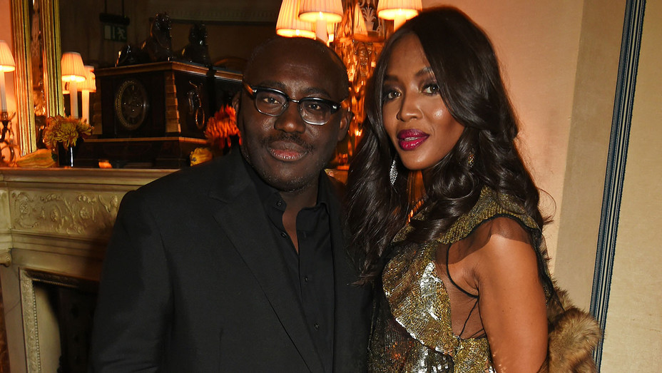 Edward Enninful and Naomi Campbell - Getty - H 2017