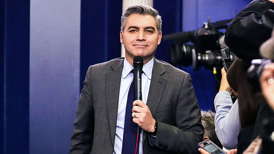 12 Top D.C. Political Media Stars - Jim Acosta - Getty - H 2017