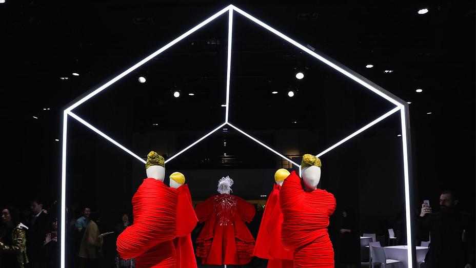 Rei Kawakubo Comme Des Garcons Presentation - Getty - H 2017