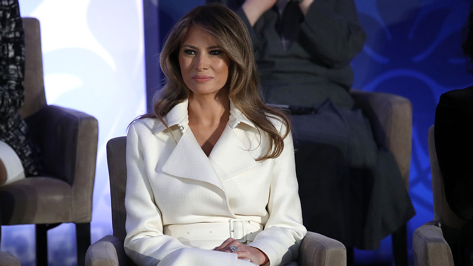 First Lady Melania Trump -  2017 Secretary of State's International Women of Courage Award -Getty-H 2017
