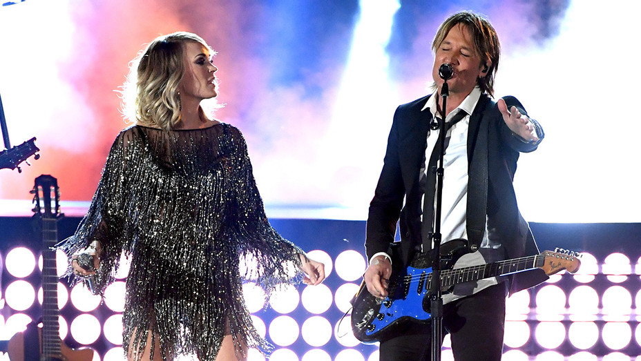 Carrie Underwood Keith Urban ACM Awards - H Getty 2017