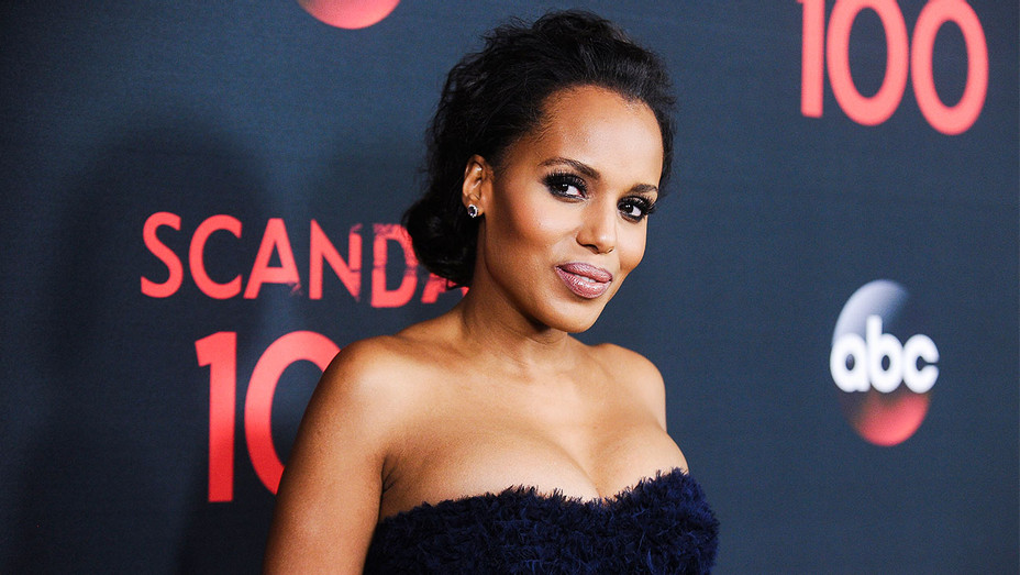 Kerry Washington - ABC Scandal 100th Episode Celebration - Getty - H 2017