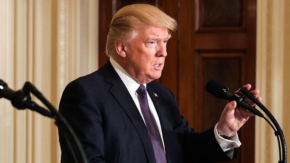 Donald Trump - Press Conference April 2017 - Getty H 2017
