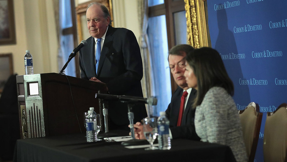 Dr. David Dao  Attorneys press conference - Crystal Dao Pepper - Getty-H 2017
