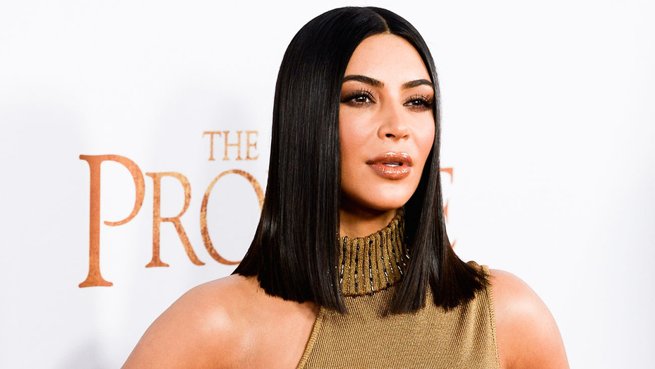 Kim Kardashian - The Promise Premiere - Getty - H 2017
