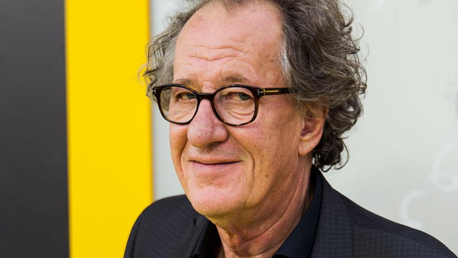 Geoffrey Rush - National Geographic Genius Carpet - Getty - H 2017