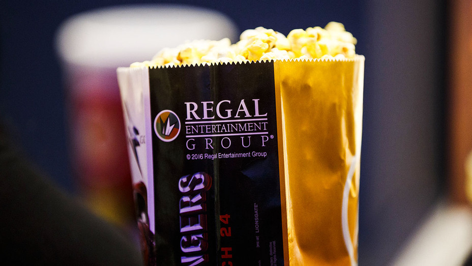 Regal Entertainment Popcorn - One Time Use Only - Getty - H 2017