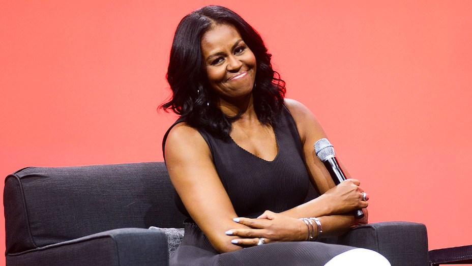 Michelle Obama - First Public Appearance - Getty - H 2017