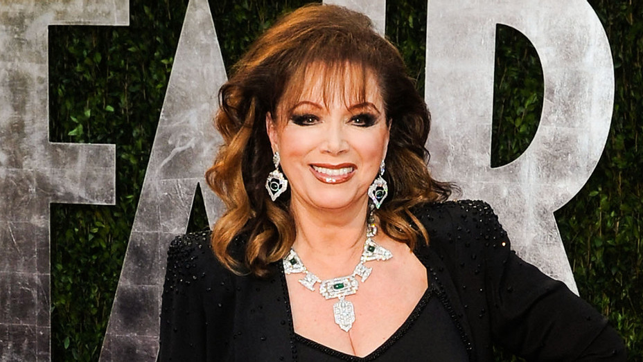 Jackie Collins - 2010 Vanity Fair Oscar Party - Getty - H 2017