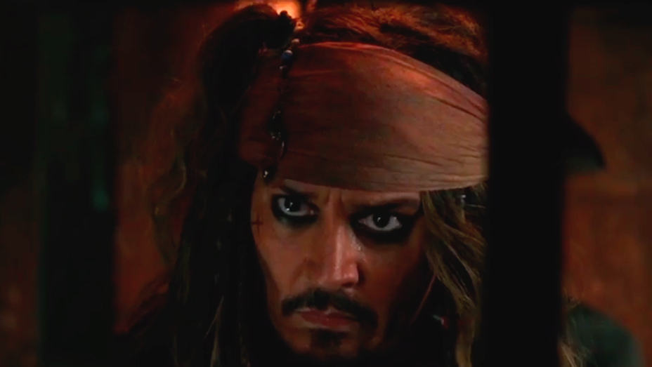 Johnny Depp - Pirates of the Caribbean Dead Men Tell No Tales International Trailer Stil -l H 2017