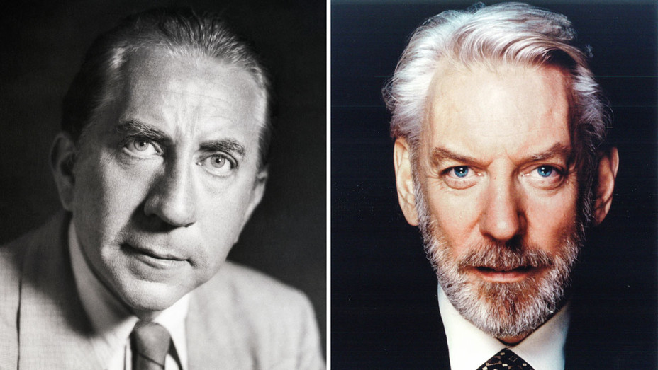 Jean Paul Getty and Donald Sutherland - Getty One Time Use Only - Split - H 2017