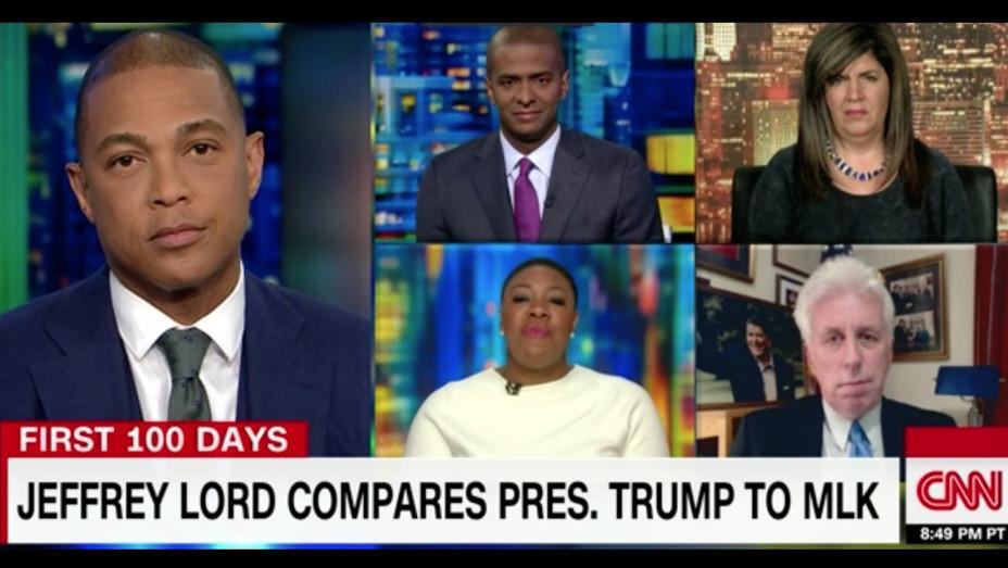 Jeffrey Lord MLK Comment CNN - H - 2017