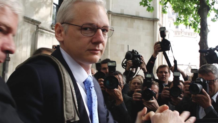 Julian Assange Risk Still - Publicity - H 2017