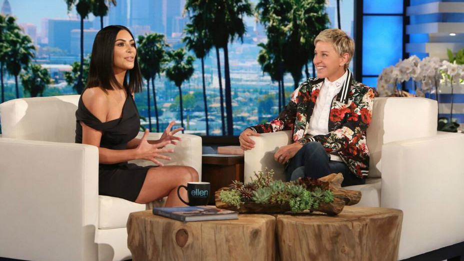 Kim Kardashian on Ellen — H 2017