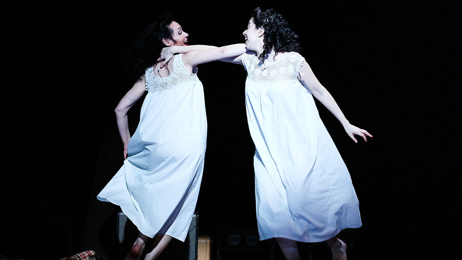 Indecent Still Katrina Lenk and Adina Verson - Publicity - H 2017