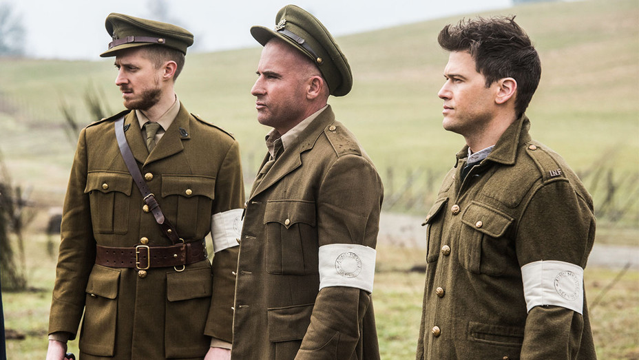 Legends of Tomorrow Still - Arthur Darvill, Dominic Purcell and Nick Zano - Publicity - H 2017