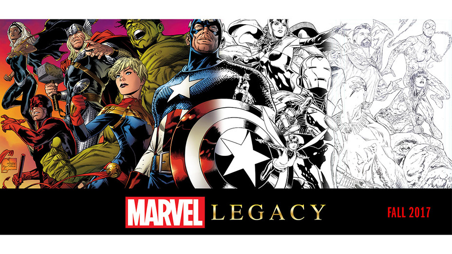 Marvel Legacy Cover - Publicity - H 2017
