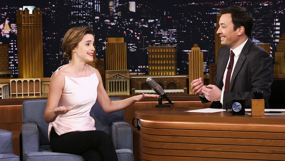 The Tonight Show with Jimmy Fallon Emma Watson - Publicity - H 2017