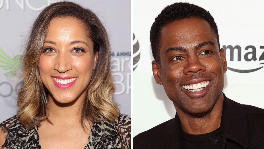 Robin Thede and Chris Rock -Split-Getty-H 2017