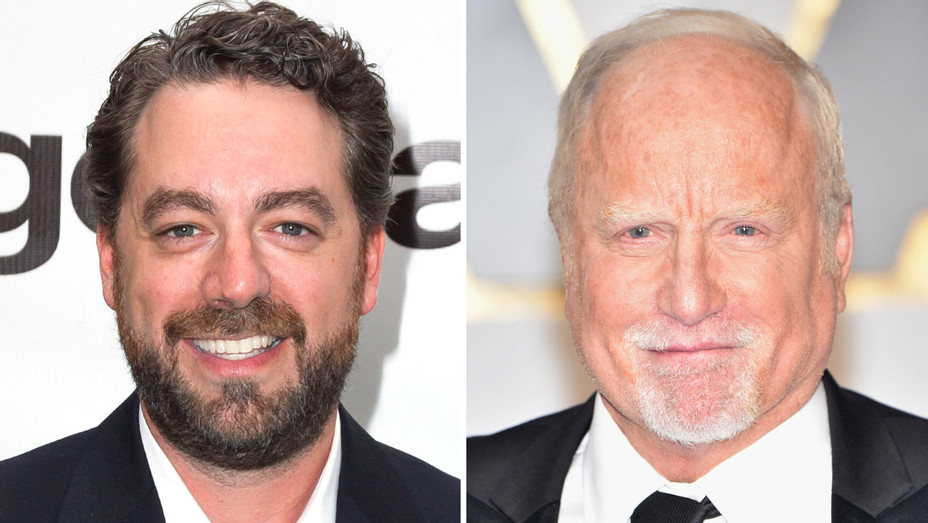 Brent Roske Richard Dreyfuss Split - Getty - H 2017