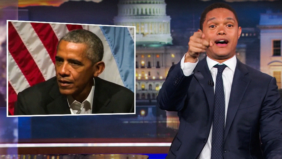 The Daily Show with Trevor Noah Barack Obama - Screenshot - H 2017