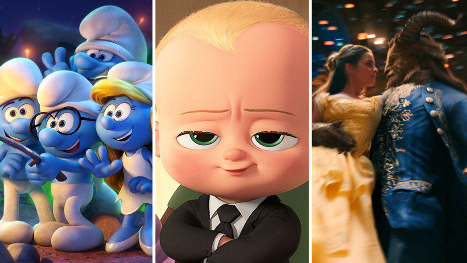 Smurfs: The Lost Village, Boss Baby and Beauty and the Beast - Publicity-H 2017