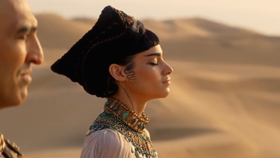 Sofia Boutella - The Mummy Trailer 2 Still - H 2017