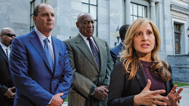 """The Brash Plan to Defend Bill Cosby: """"Rehabilitate His Reputation"""" at Trial"""