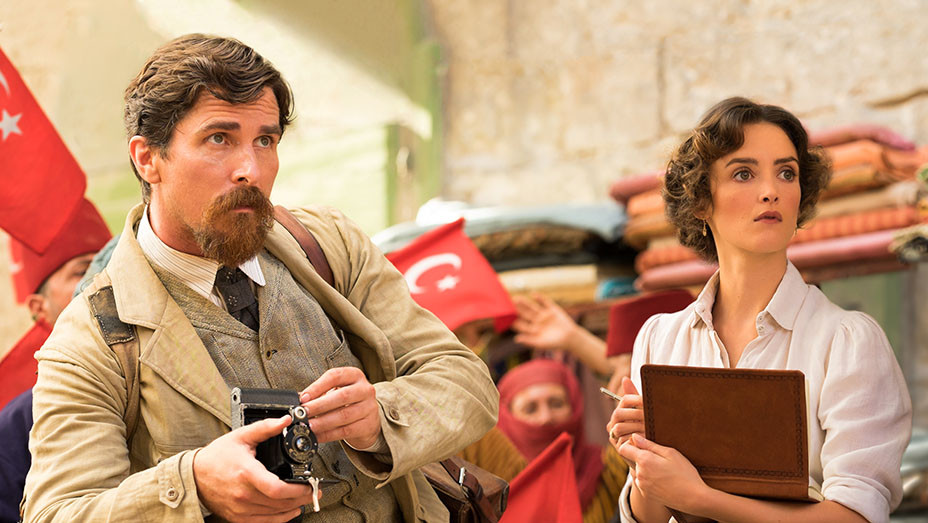 The Promise Still Christian Bale and Charlotte Le Bon - Open Road Films - Publicity - Embed - H 2017