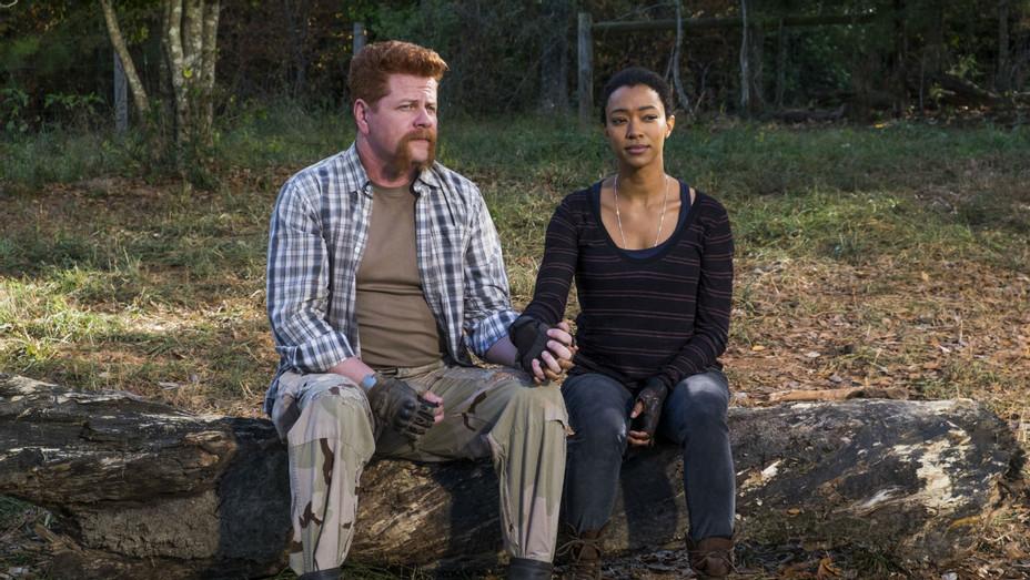 'The Walking Dead' S07E16 Still Abe and Sasha - H 2017