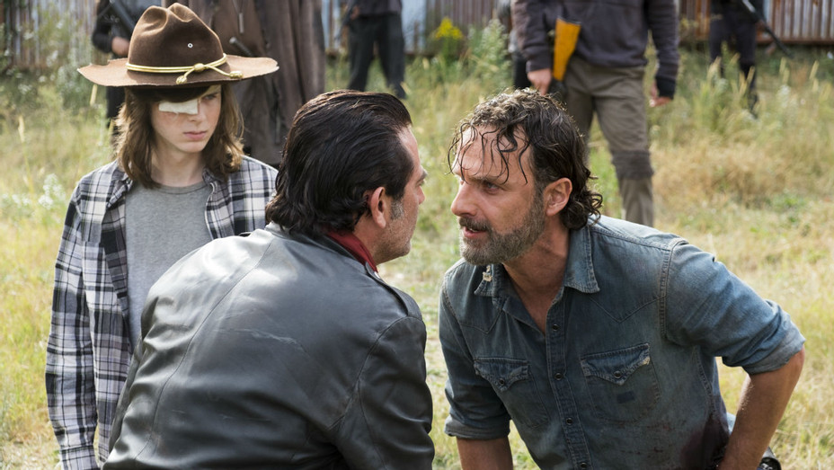 'The Walking Dead' S07E16 Still Rick Negan Carl - H 2017