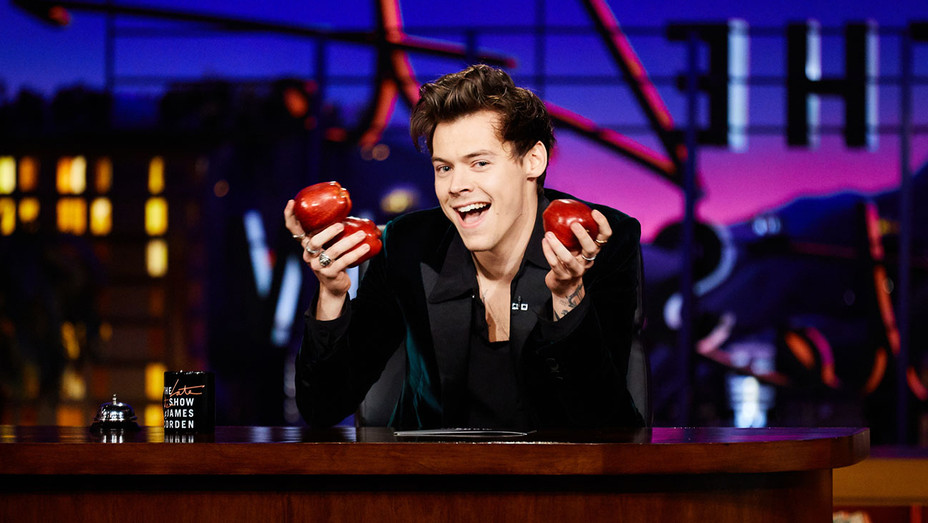 Harry Styles - The Late Late Show with James Corden -Publicity- H 2017