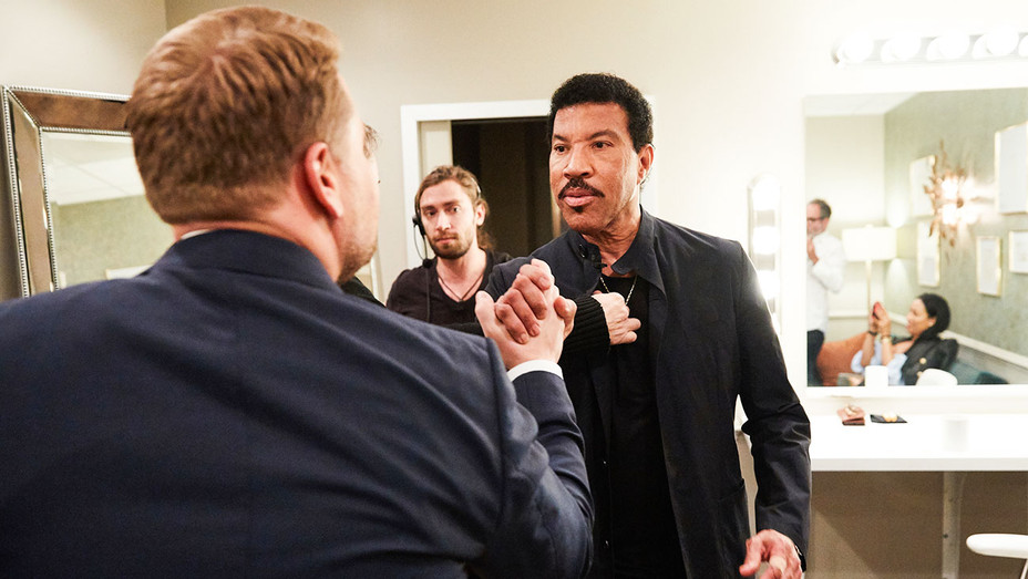 The Late Late Show with James Corden Still Lionel Richie - Publicity - H 2017