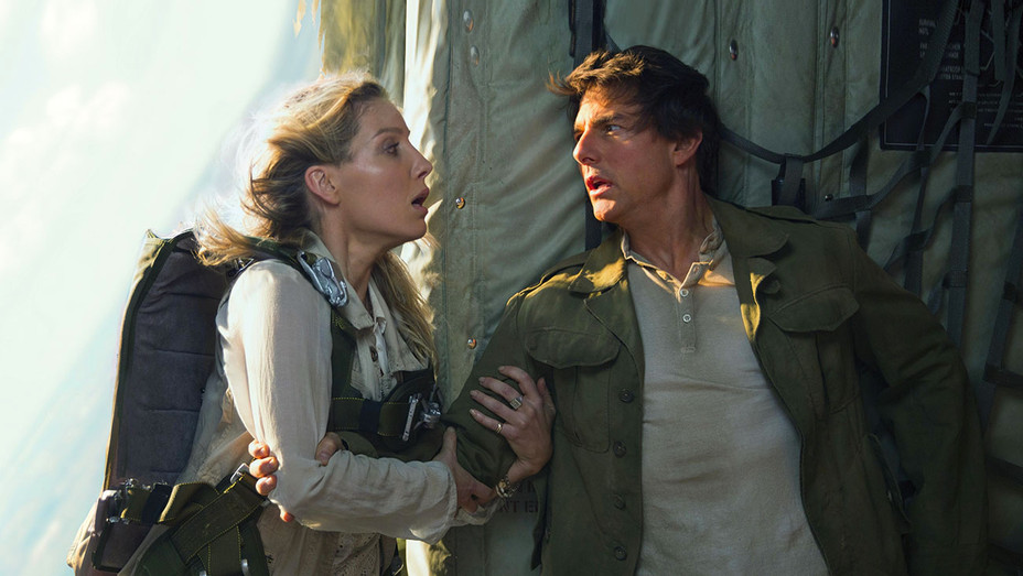 Hollywood's China Quota Wish List: - The Mummy - ANNABELLE WALLIS and TOM CRUISE - H 2017