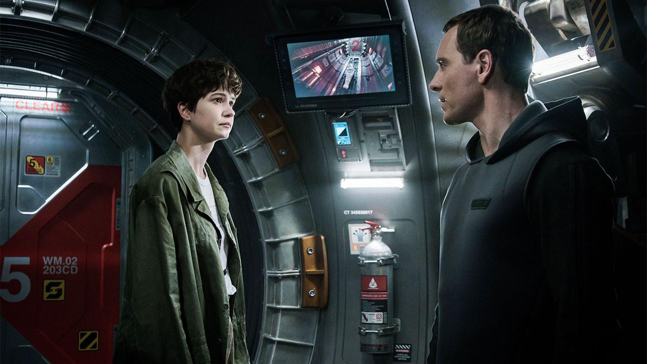 Alien: Covenant Still Katherine Waterston und Michael Fassbender - Werbung - H 2017