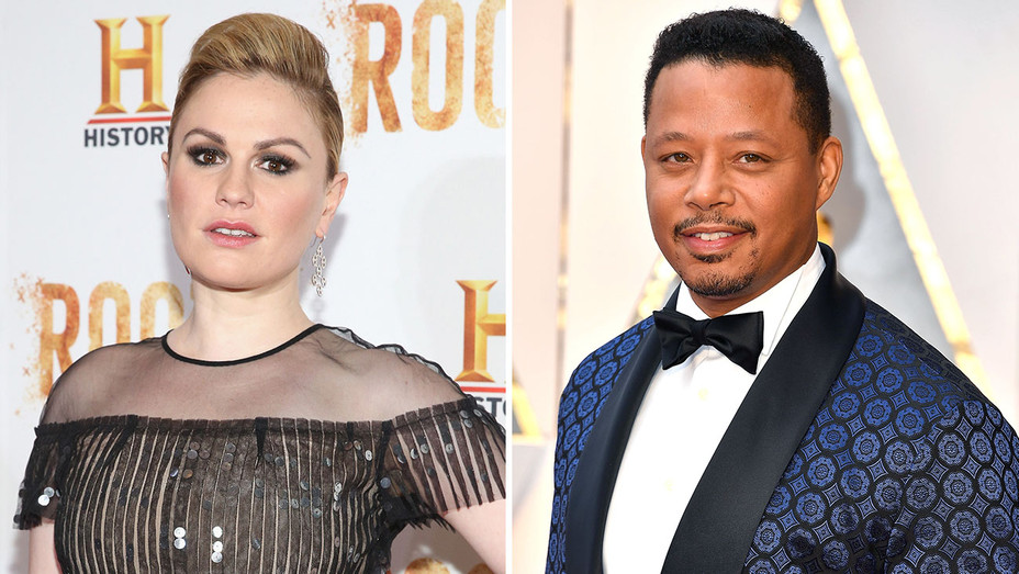Anna Paquin & Terrence Howard_Split - Getty - H 2017