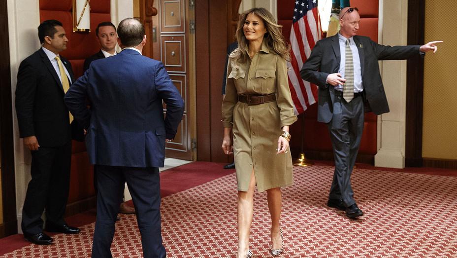 Melania Trump  - May 21, 2017, in Riyadh - AP Photo- ONE TIME USE ONLY - H 2017