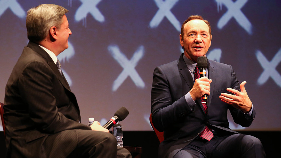 Ted Sarandos and Kevin Spacey - House of Cards FYC Event - Publicity - H 2017