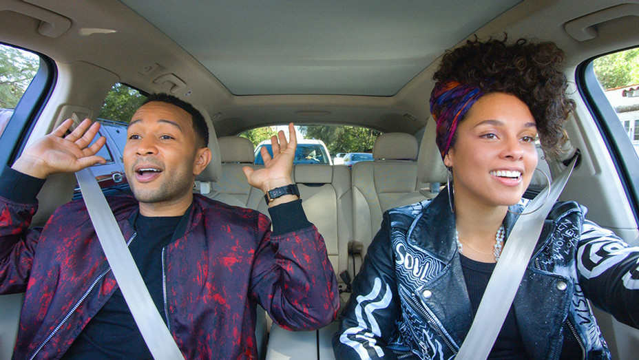 Carpool Karaoke John Legend Alicia Keys - Publicity - H 2017
