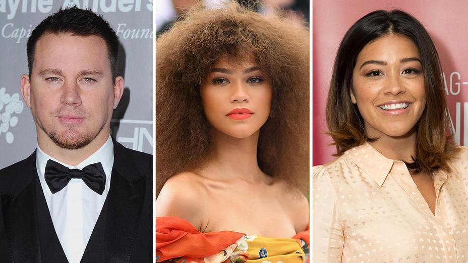 Channing Tatum, Zendaya, Gina Rodriguez_Split 2 - Getty - H 2017